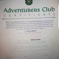 Want to join Scientology's Irish 'Adventurers Club'? That'll be €1,000 please