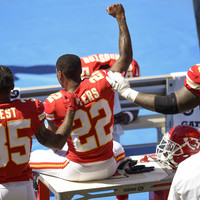 Chiefs looking to extend unbeaten run as anthem protest comes under focus again