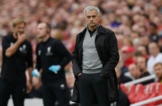 'I was feeling that I need my bench but we had no bench' - Mourinho