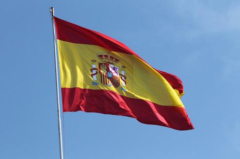 Spanish flag (file pic).