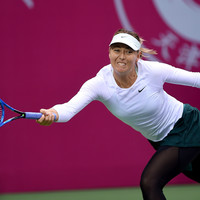 Maria Sharapova wins her first title since return from drugs ban