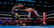 Jermell Charlo lit up Brooklyn with a KO of the Year contender last night