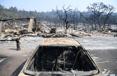 'Hell on earth': Californian wildfires are now 100 miles wide as death toll reaches 40
