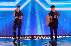 The Wicklow brothers on X Factor made it through despite a dramatic intervention by Simon Cowell