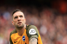 Worry for Martin O'Neill as Shane Duffy limps off injured for Brighton