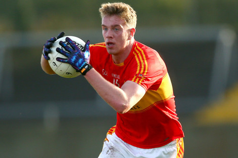 Kirby: second-half goal had Mitchels in the driving seat, but it wasn't enough (file photo).
