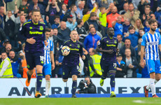 Wayne Rooney earns a point for Everton with a last-gasp penalty