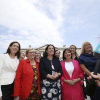 Ireland is below the European average when it comes to having women in politics