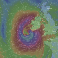 'A significant risk to life': Storm Ophelia could have a 'sting jet' with winds of 100km/h