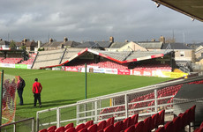 Cork City's Turner's Cross ground seriously damaged by Storm Ophelia