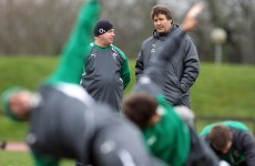 Forwards coach Gert Smal to miss rest of Ireland's Six Nations campaign