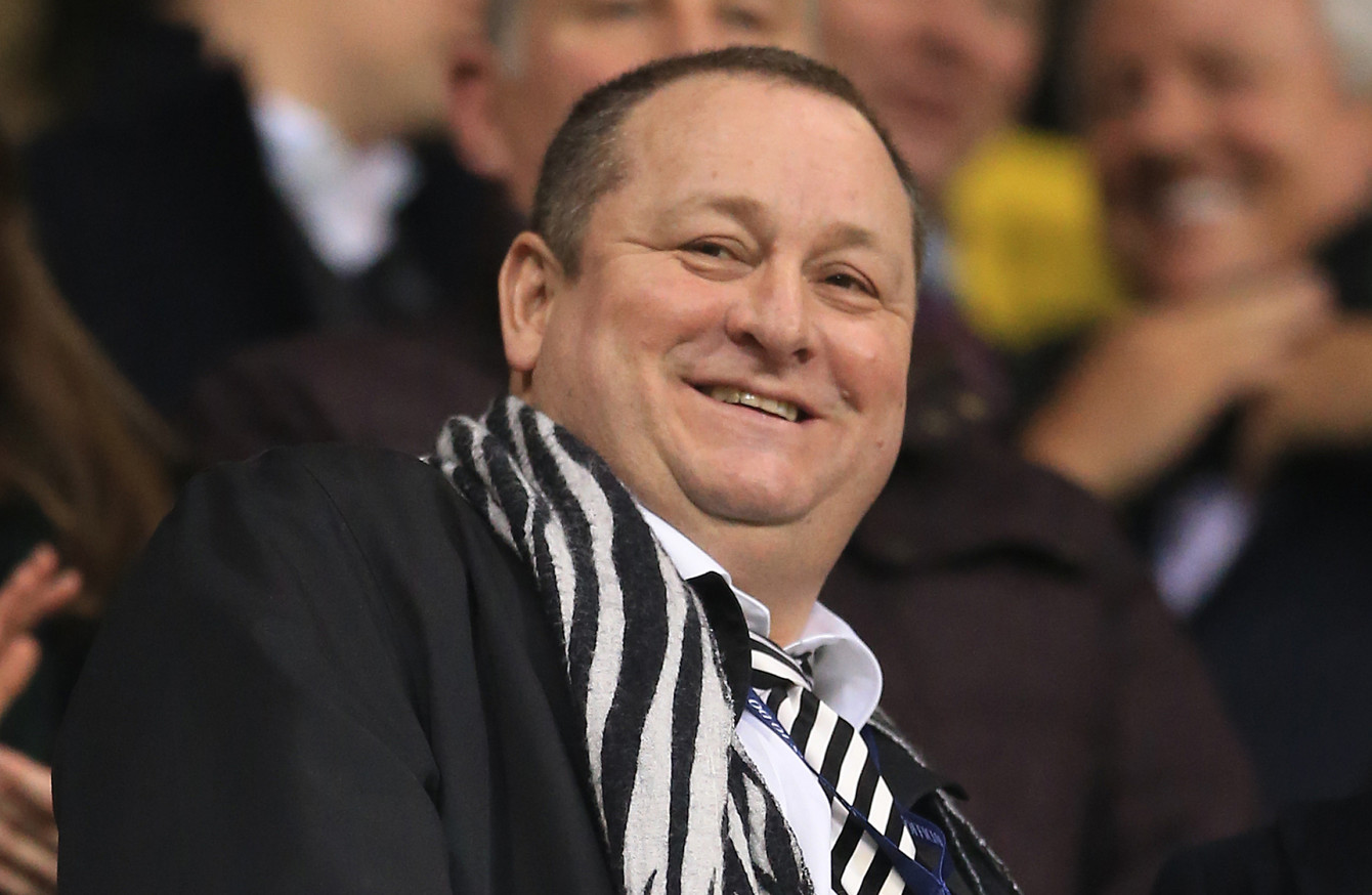 Controversial owner Mike Ashley puts Newcastle United up for
