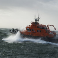 Three men rescued from Ophelia off yacht in Co Wexford
