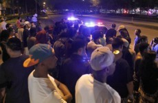 Florida riot police break up crowds gathered for hyped Nike release