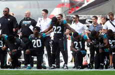 Jaguars president apologises for NFL players kneeling in London