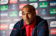 Simon Zebo's future at Munster up in the air