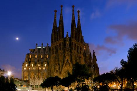 La Sagrada Familia is perhaps Barcelona's most famous landmark.