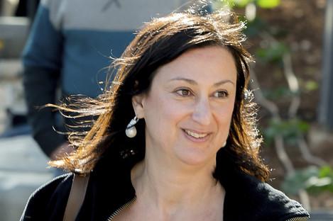 Daphne Caruana Galizia was killed in a car bomb on Monday