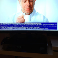 See the Ophelia warnings on TV on Sunday? That was Ireland's emergency broadcasting system in action