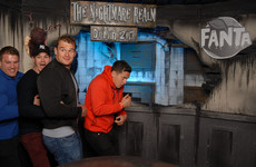 13 photos of the Leinster rugby team getting the shite scared out of them at the Nightmare Realm