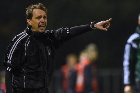 UCD manager Maciej Tarnogrodzki.