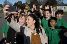'Jacinda-mania' triumphs ... a month after the election: Labour leader takes charge in New Zealand