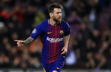 The eight records Lionel Messi now holds after his 100th European club goal last night
