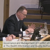 Health watchdog boss says he was at controversial 'boycott Fair Deal Scheme' meeting