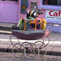 In pictures: The street traders of Dublin and their prams