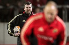 Answering Ireland's call, Anthony Foley plays down talk of Munster job