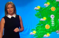 Met Eireann's Joanna Donnelly shared a very angry letter she received from a viewer