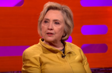 Hillary Clinton told Graham Norton that she didn't want to attend Trump's inauguration
