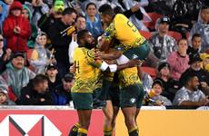 After seven successive defeats Australia claim long-awaited win over All Blacks