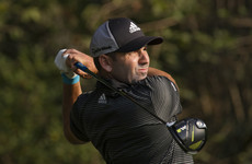 At home Sergio Garcia takes one-shot lead at Valderrama