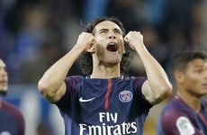 Cavani rescues PSG after Neymar sees red in Le Classique