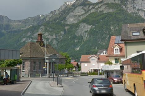Flums, Switzerland.