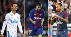 Who should be crowned the world's best footballer at the Fifa Awards ceremony tonight?