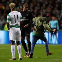 Uefa fine Celtic after fan's attempted assault on PSG striker Mbappe