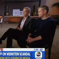 'I knew the story about Gwyneth': Matt Damon and George Clooney have spoken about the Harvey Weinstein scandal