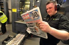 Sun on Sunday goes on sale in Britain and Ireland