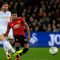 Jesse Lingard at the double as Red Devils get back on track against Swansea