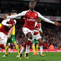 Nketiah becomes first player born after Wenger's appointment to score for Arsenal