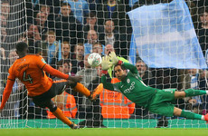 Claudio Bravo the penalty hero as Man City scrape through