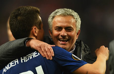 'We have a fantastic relationship': Herrera insists all is good with Mourinho