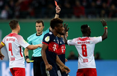 Liverpool-bound Naby Keita sent off for the third time in seven games