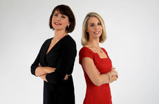 Caitriona Perry and Keelin Shanley are the new presenters of Six One News