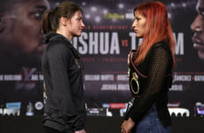 'It will be a dark and rainy night for Katie': Sanchez vows to destroy Taylor's title dream