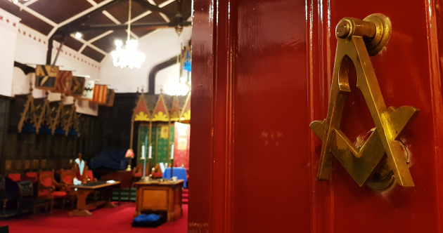 Step inside the headquarters of Ireland's Freemasons