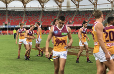 Former Mayo minor captain Cian Hanley has been let go by the Brisbane Lions