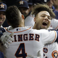 Houston's Gurriel apologises for apparent racist gesture as Astros beat Dodgers